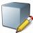 Cube Grey Edit Icon 48x48