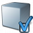 Cube Grey Preferences Icon 48x48