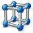 Cube Molecule Icon 48x48