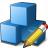 Cubes Blue Edit Icon 48x48
