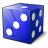 Die Blue Icon 48x48