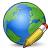 Earth Edit Icon 48x48