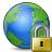 Earth Lock Icon 48x48
