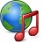 Earth Music Icon 48x48