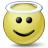 Emoticon Angel Icon 48x48