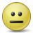 Emoticon Straight Face Icon 48x48