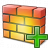 Firewall Add Icon 48x48
