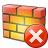 Firewall Error Icon 48x48