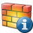 Firewall Information Icon 48x48