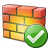 Firewall Ok Icon 48x48