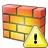 Firewall Warning Icon 48x48