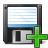 Floppy Disk Add Icon 48x48