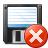Floppy Disk Error Icon 48x48