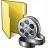 Folder 3 Movie Icon 48x48