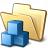 Folder Cubes Icon 48x48