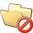 Folder Forbidden Icon 48x48