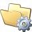 Folder Gear Icon 48x48
