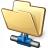 Folder Network Icon 48x48