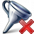 Funnel Delete Icon 48x48