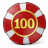 Gambling Chip Icon 48x48