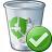 Garbage Ok Icon 48x48