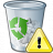 Garbage Warning Icon 48x48