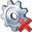 Gear Delete Icon 48x48