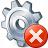 Gear Error Icon 48x48