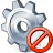 Gear Forbidden Icon 48x48