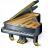 Grand Piano Icon 48x48
