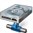Hard Drive Network Icon 48x48