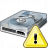 Hard Drive Warning Icon 48x48