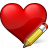 Heart Edit Icon 48x48