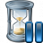 Hourglass Pause Icon 48x48