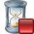 Hourglass Stop Icon 48x48