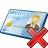 Id Card Delete Icon 48x48