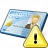 Id Card Warning Icon 48x48