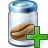 Jar Bean Add Icon 48x48
