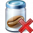 Jar Bean Delete Icon 48x48
