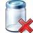 Jar Delete Icon 48x48