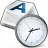 Keyboard Key Clock Icon 48x48