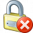 Lock Error Icon 48x48