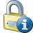 Lock Information Icon 48x48