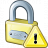 Lock Warning Icon 48x48
