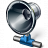Loudspeaker Network Icon 48x48