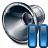 Loudspeaker Pause Icon 48x48