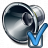 Loudspeaker Preferences Icon 48x48
