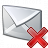 Mail Delete Icon 48x48