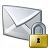 Mail Lock Icon 48x48