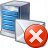 Mail Server Error Icon 48x48